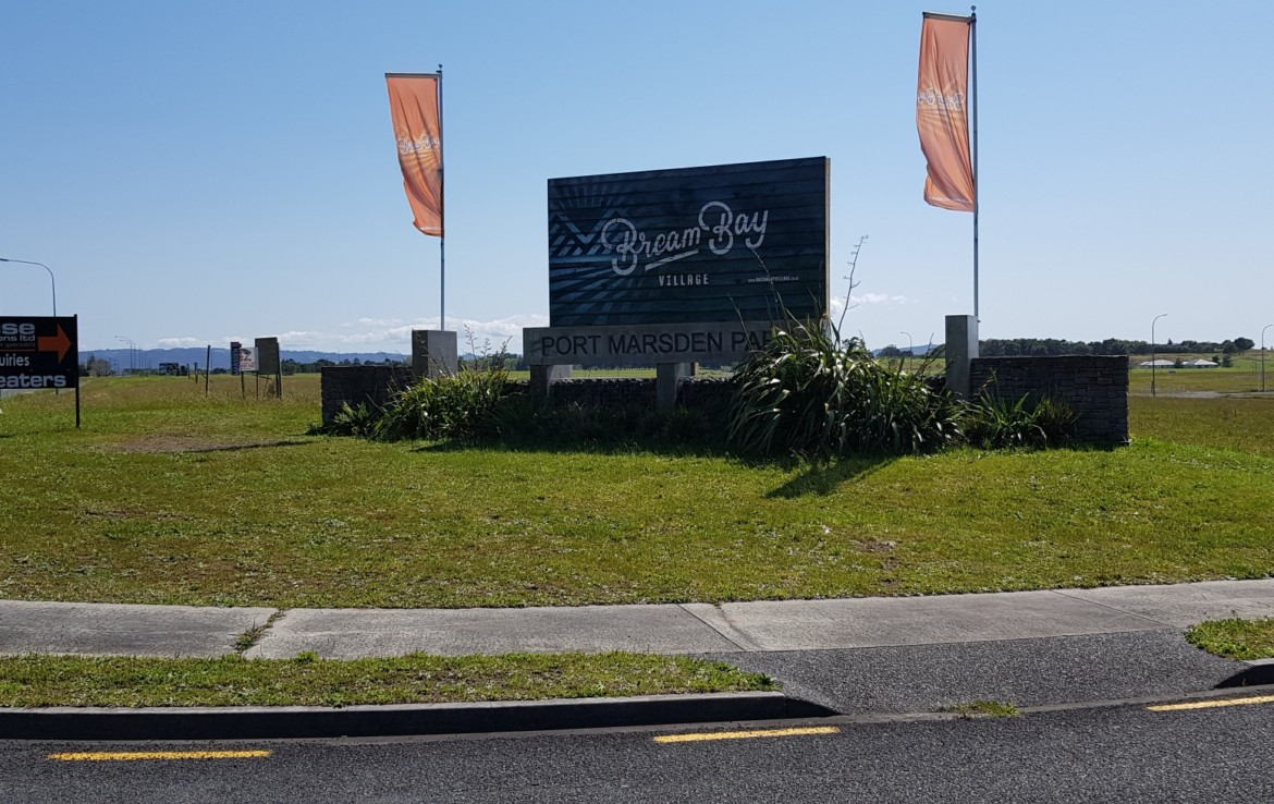 exciting new project Bream Bay village