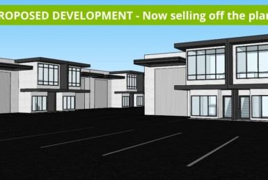 exciting new project selling off the plan