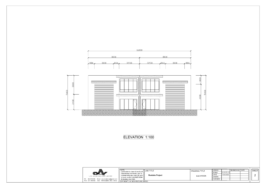 exciting new project frontage