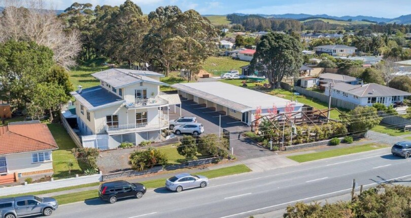 LIGHT UP YOUR FUTURE – BUY THIS ICONIC WAIPU MOTEL